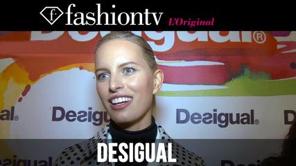 News video: Candice Swanepoel in Desigual Fall/Winter 2014-15 Front Row | New York Fashion Week NYFW | FashionTV